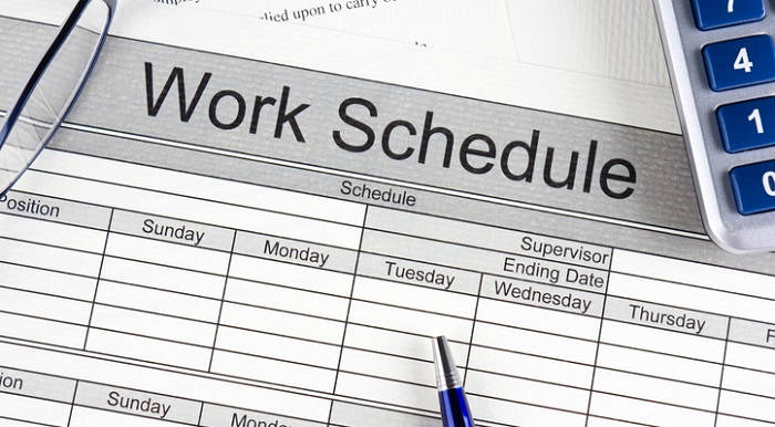 nordstrom work schedule